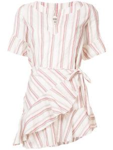 LEMLEM Juni Flounce Wrap dress