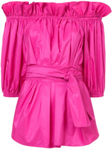 STELLA MCCARTNEY off-the-shoulder blouse