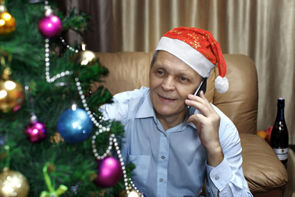 Checking in on Elderly People over the Festive Season