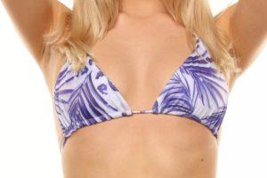 Aloha Top Blue Palm/Seashell