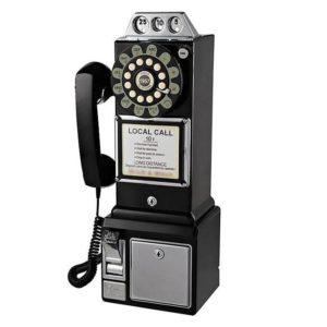 1950S VINTAGE AMERICAN DINER PAY PHONE