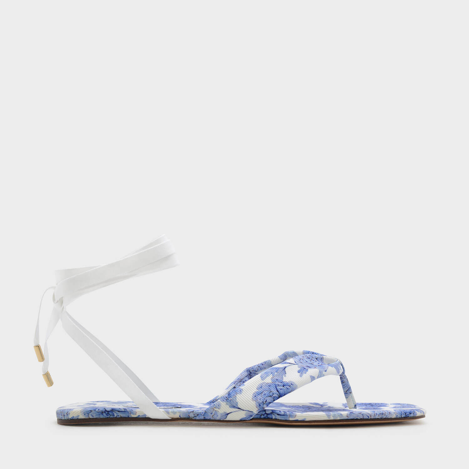 3c55c02214506 CHARLES   KEITH Lace Up Thong Sandals