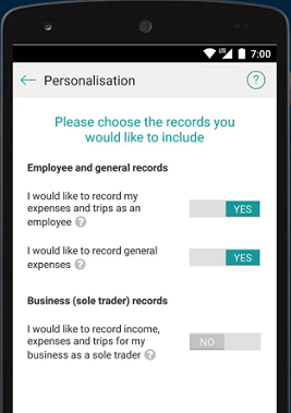 Screenshot of Australian Taxation Office App