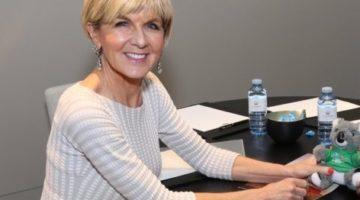 Julie Bishop tops list of most inspirational Australian woman