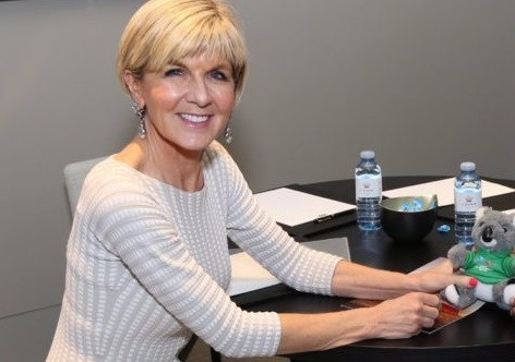Julie Bishop tops list of most inspirational Australian woman