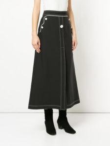 ELLERY A-line skirt