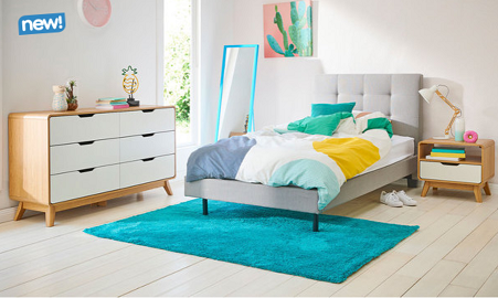 Modena King Single Bedroom Package With Dresser