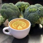 Would you want to try a broccoli latte?