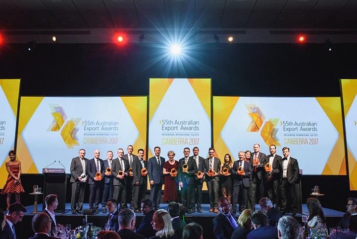 55th Australian Export Award Winners Group Photo (JPEG)