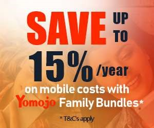 Save up to 15% per year on mobile costs