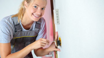 What does it take to be a locksmith? Patience, above all