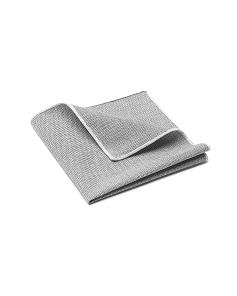 Grey Tweed Pocket Square