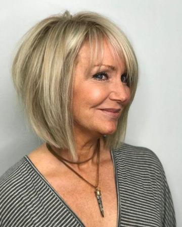 short hairstyles for women over 60 trends this year