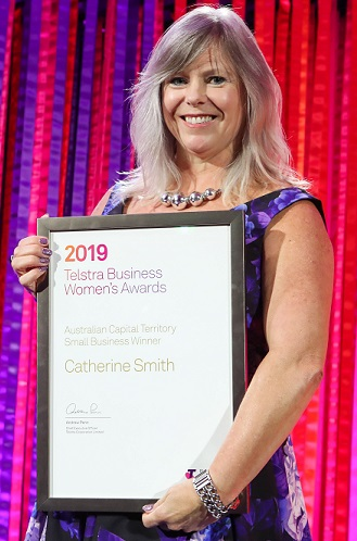 Small Business Award: Catherine Smith, Director, Wholistic Financial Solutions